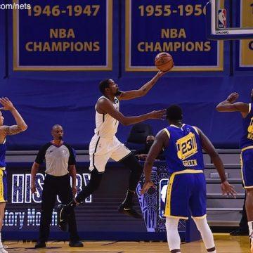 Les Nets brillent avec la présence de Kevin Durant !